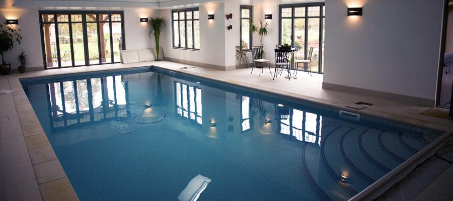 Indoor Mosaic Swimming Pool