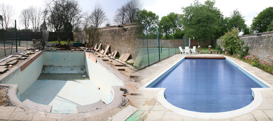 swimming pool renovations and refurbishment